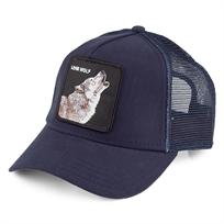 Goorin יוניסקס// Wolf Navy כובע מצחייה חיות