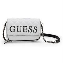 GUESS נשים // CALIFORNIA DREAM MINI BAG WHITE