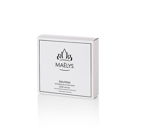 מארז מסכות פנים Maelys לעור זוהר ורענן ב-10 דקות נוחה לשימוש מתאימה לכל סוגי העור -7 יחידות בכל מארז - משלוח חינם - תמונה 2