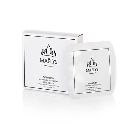 מארז מסכות פנים Maelys  לעור זוהר ורענן ב-10 דקות - 7 יחידות בכל מארז