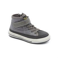 Keds - נעלי סניקרס גבוהות עם סקוטש לילדים בצבע אפורשחור