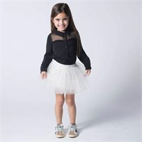 ORO חצאית טוטו לבנה - (7-2 שנים)
