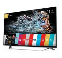 "טלוויזיה חכמה ""65 Slim LED Smart TV תלת מימד FULL HD עם מעבד 2000 PMI ברזולוציית 4K Ultra HD מבית LG"