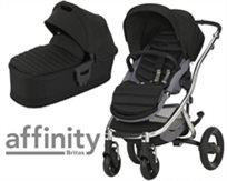 עגלת תינוק עם סל שכיבה אפיניטי Affinity Ii - שחור