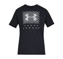 חולצת טישרט לגברים Under Armour SS19 UA BRANDED BIG LOGO SS - שחור
