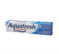 """10 יחידות משחת שיניים AquaFresh Mint אקווה פרש 100 מ""""ל"""