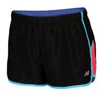 מכנסי ריצה מקצועיים לנשים - שחור/כחול/ורוד