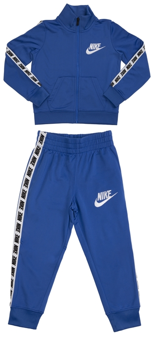Nike ילדים קטנים // Block Taping Tricot Set Royal