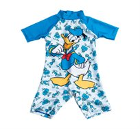 בגד ים שלם דונלד דאק לתינוקות בצבע כחול