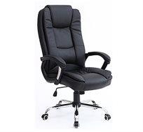 כיסא מנהלים מדמוי עור מתכוונן לבית ולמשרד