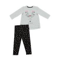 Minene חליפה(24-6 חודשים)- צבי