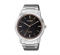 שעון יד סולארי לגבר עשוי סופר טיטניום קל משקל וחזק וזכוכית ספיר העמידה בפני שריטות CITIZEN
