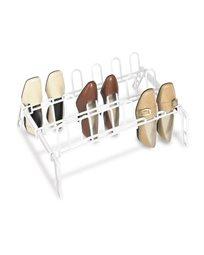 מעמד פלסטיק לנעליים - 9 זוגות