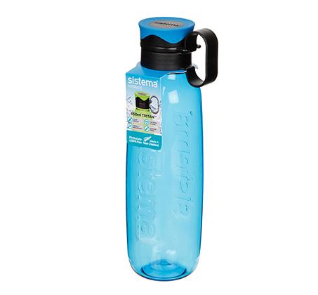 בקבוק שתייה טריטן בקבוק עם פקק וידית נשיאה 850 מ
