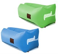 Pooof - פוף מתנפח ברגע עם הגב הרחב בצורת U-Shape