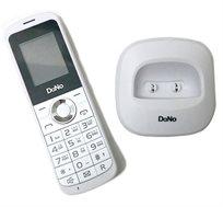 """טלפון אלחוטי סלולארי DaNo I449 עם כרטיס SIM עברית מלאה, מסך LCD מאושר ע""""י ועדת הרבנים לענייני תקשורת"""