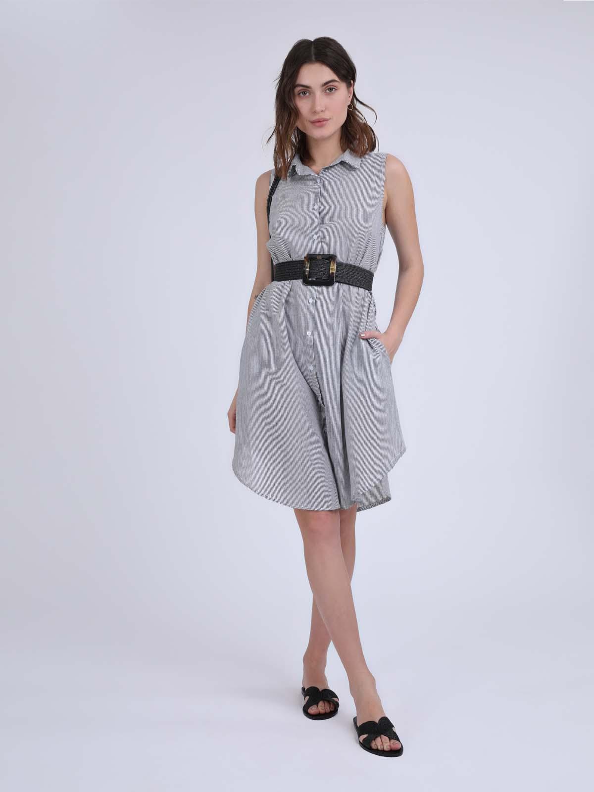 שמלה כפתורים שיינה סטייל ריבר