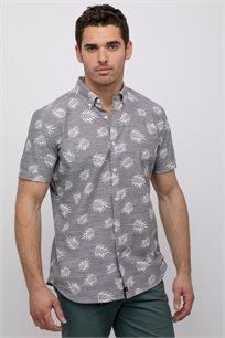 חולצה מכופתרת הוואי