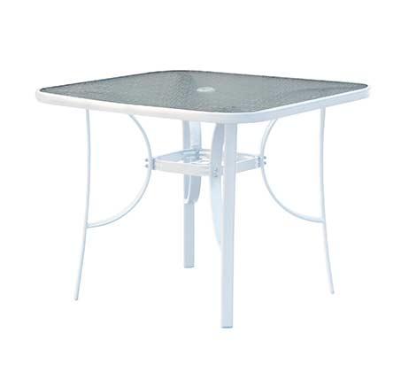 שולחן גינה מרובע דגם ALBANY