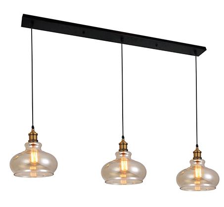 מנורת תליה מעוצבת בצורת פעמון שון ביתילי