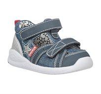 נעלי צעד ראשון Papaya ספורטיפיי כוכב לבנים בצבע ג'ינס