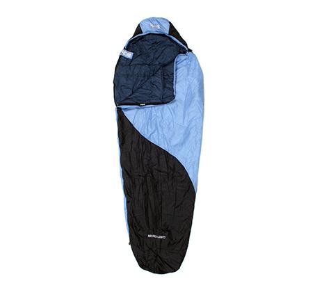 שק שינה במבנה מומיה קל בעל שכבה חיצונית שומרת חום דגם MICROLIGHT