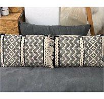 כרית נוי עשוי עבודת יד דגם לונגי RICO BRAND