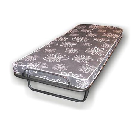 מיטה ניידת עם מזרן לאירוח ניתנת לקיפול לאחסון נוח בבית - תמונה 2