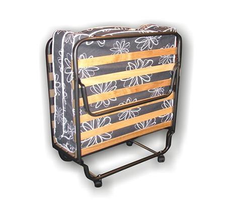 מיטה ניידת עם מזרן לאירוח ניתנת לקיפול לאחסון נוח בבית - תמונה 3