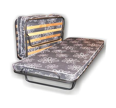 מיטה מתקפלת לאירוח ניידת על גלגלים