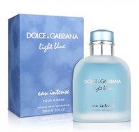 """בושם לגבר Light Blue Intense א.ד.פ 100 מ""""ל Dolce & Gabbana"""