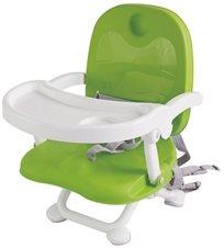 מושב הגבהה לתינוק קיט קט מתקפל עם מגש וריפוד שליף ורחיץ - ירוק