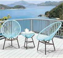 כסא מעוצב למרפסת ולגינה