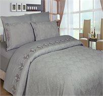 מערכת כלי מיטה זוגית שישה חלקים עשוי סאטן אל קמט - משלוח חינם