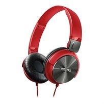 """אוזניות בסגנון DJ עם רמקול 32 מ""""מ Philips SHL3160RD - משלוח חינם!"""