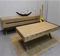 סט שולחן ומזנון לסלון VITORIO DIVANI דגם פטרה