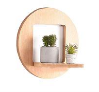 מדף חלון עשוי עץ בצורה לבחירה ריקו ברנד