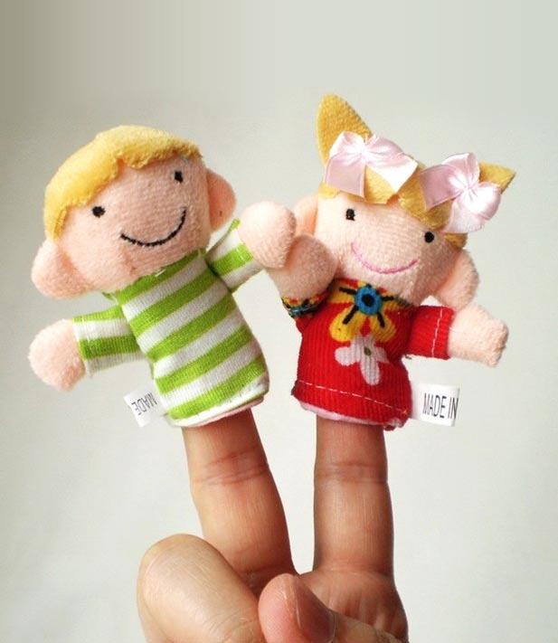 לכל המשפחה! סט בובות אצבע איכותיות המרכיבות משפחה שלמה: סבא, סבתא, אבא, אמא, אח ואחות, ב-₪35 בלבד! - תמונה 7