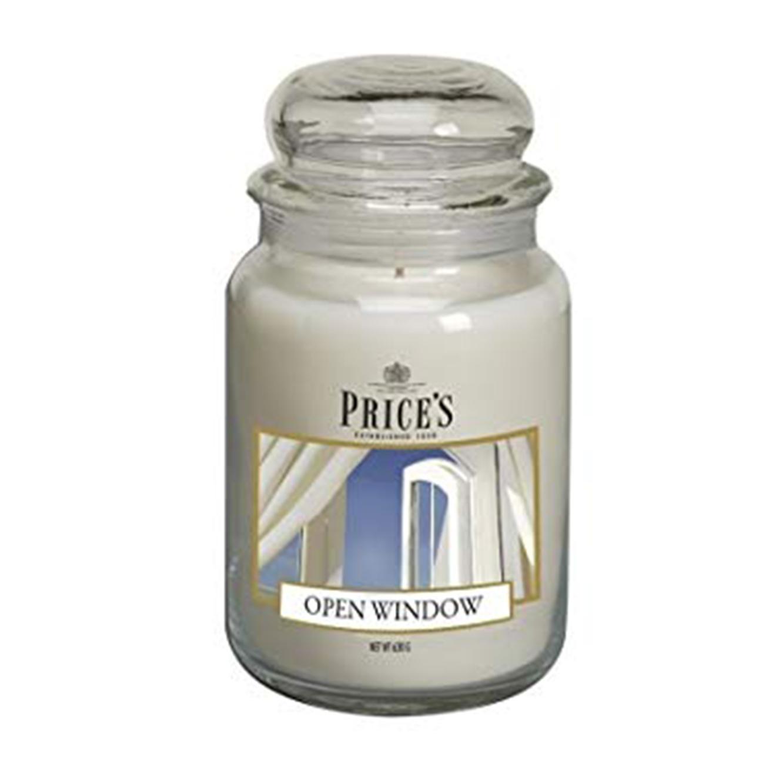נר ריחני בצנצנת לאווירה חמה ונעימה בחללי הבית השונים במגוון ניחוחות וגדלים לבחירה PRICE'S  - תמונה 5