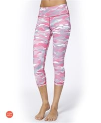 מכנס ספורט7/8  pink camo