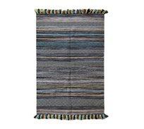 שטיח כותנה בעבודת יד דגם Kaleen brown בגדלים לבחירה