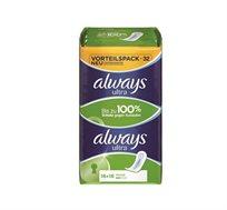 6 מארזים של Always duo pack תחבושות לילה מבושמות (32 יח' במארז) רק ב-₪89 - משלוח חינם!