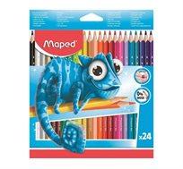 מארז הכולל 24 עפרונות צבעוניים MAPED