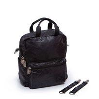 תיק גיטה-  Gitta Mini Basic - דמוי עור, שחור