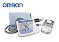 מד לחץ דם עם מדפסת מבית Omron. לתיעוד מדוייק של לחץ הדם!