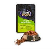 מזון Nutri Source לייט לכלבים הסובלים מעודף שקל