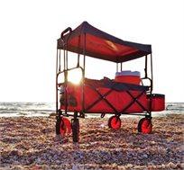 עגלה Pull&Go מתקפלת מתאימה לים לבריכה ולשטח