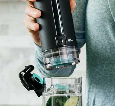 נוטרי נינג'ה Auto IQ עם משאבת וואקום דגם BL582 מקצועי להכנת משקאות ושייקים בריאים - משלוח חינם - תמונה 2