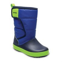 Crocs Kids LodgePoint Snow Boot - מגפיים בצבע כחולנייבי