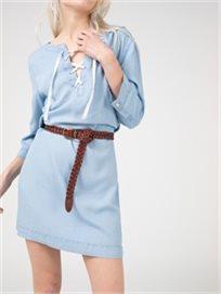 שמלת גינס עם שרוך